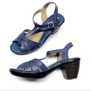 ❤️Naturalizer Brunie Mali blue Heel